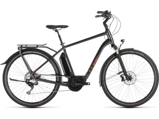 Cube Town Sport Hybrid EXC 500 sähköavusteinen kaupunkipyörä , harmaa